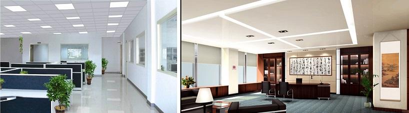Illuminazione a led per creare un ambiente confortevole for Illuminazione ufficio design
