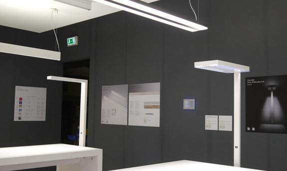 disegno luci led ufficio europeo eneltec group
